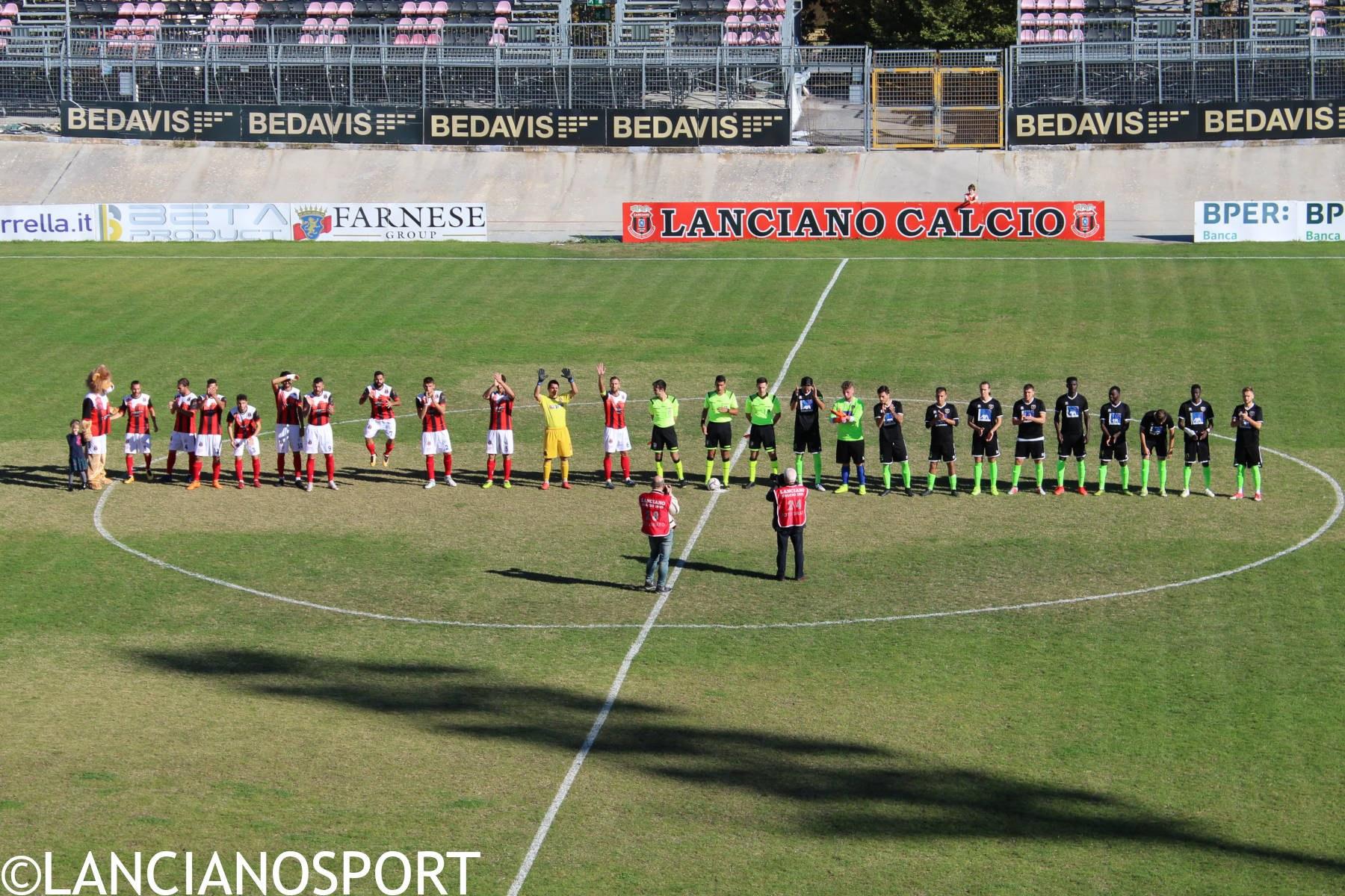 Lanciano-Paterno 7-0