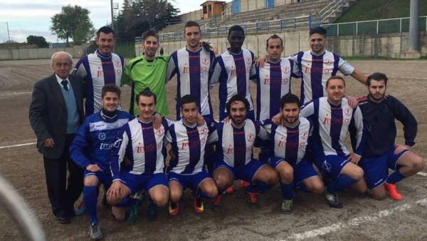 Il Trigno Celenza nella formazione che, lo scorso 20 ottobre, ha eliminato Gissi nel secondo turno di Coppa Abruzzo