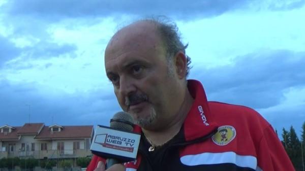 Bucci ai microfoni di Abruzzoweb.tv al termine di Real Porta Palazzo-Marcianese