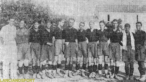 L'undici del Fascio Sportivo Rosetano, «campione d'Abruzzo» 1930-31