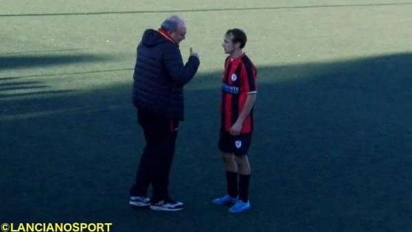 Bucci dà istruzioni a Di Martino