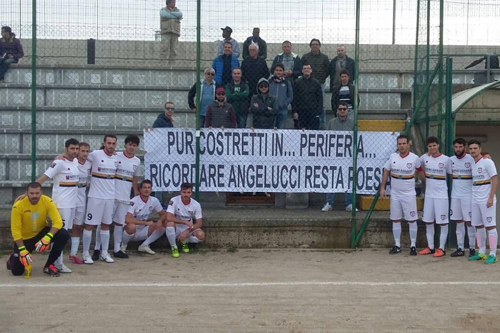 Anche a Vasto i tifosi rossoneri ricordano Ezio Angelucci