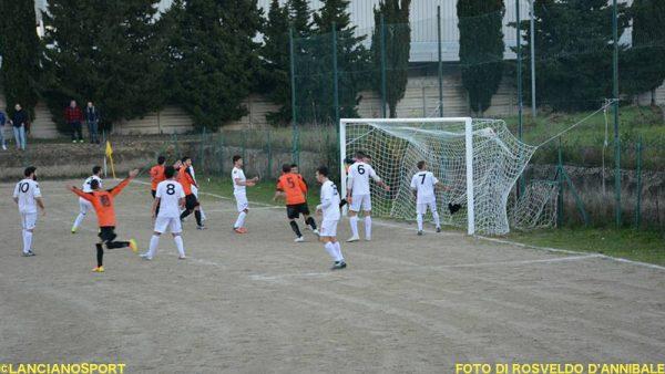 Il gol segnato da Sciarrino a 3' dal novantesimo