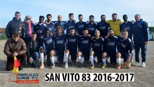 Il San Vito 83 domenica scorsa sul campo di Paglieta