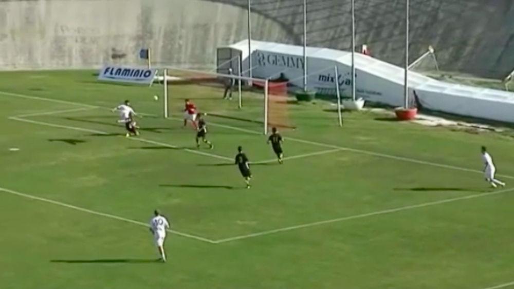 Le immagini dei cinque gol della Marcianese contro il Real Porta Palazzo