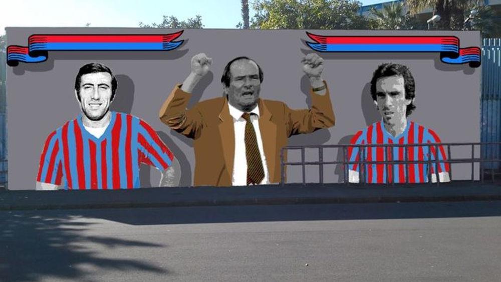 Guido Biondi tra i 50 volti storici del calcio catanese che compariranno sul Cibali