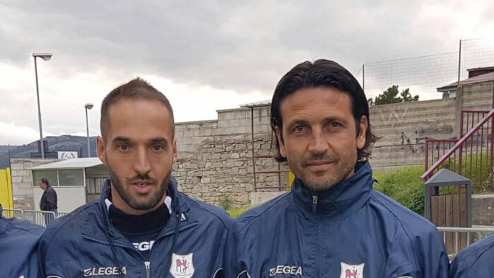 Del Grosso è l'allenatore del Lanciano: nello staff tecnico Zucchini e Spinoglio