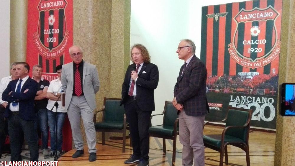 De Vincentiis infiamma Lanciano: bagno di folla per il neopresidente del Lanciano