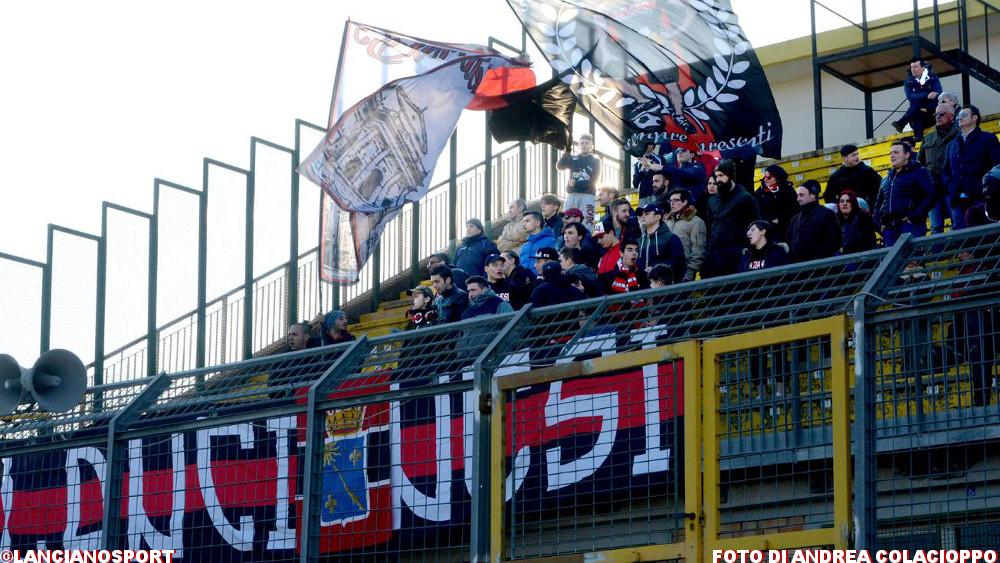 Annullato Daspo dato a tifoso lancianese in occasione di Marcianese-San Vito 83