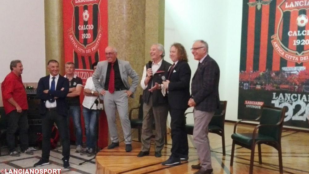 Mario Giancristofaro presidente onorario del Lanciano