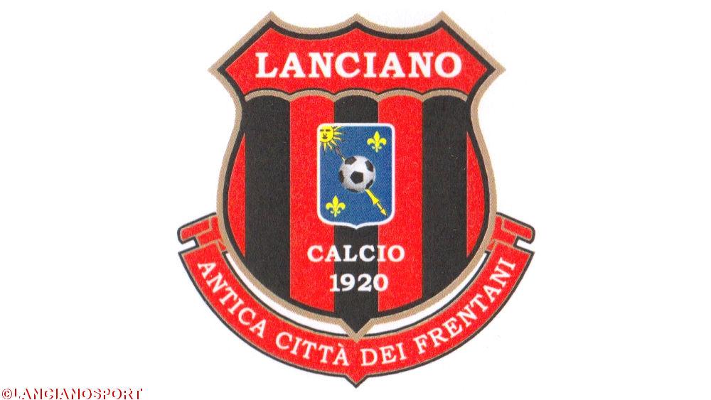 Lo stemma cittadino aggiunto nello scudetto del Lanciano