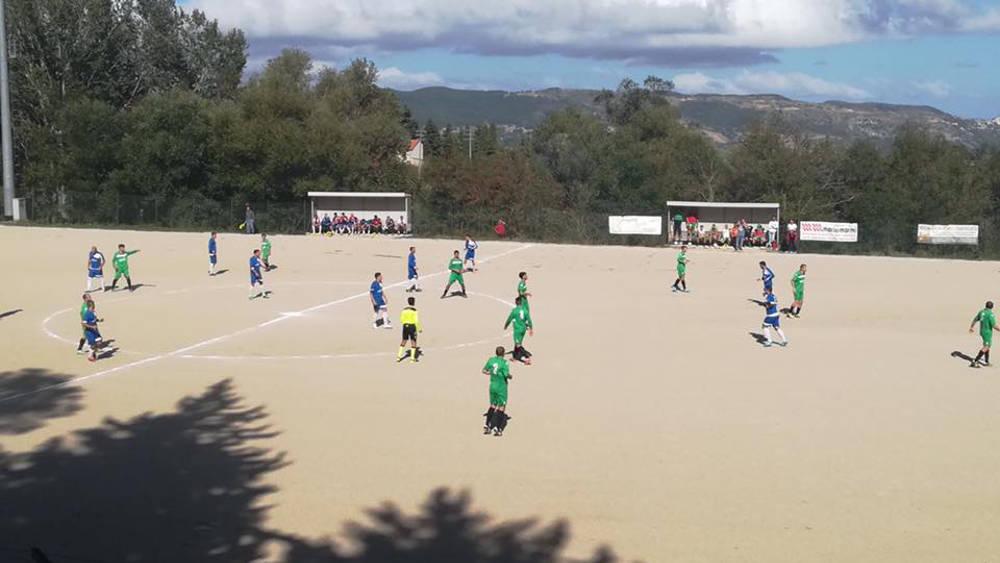 La giornata d'esordio nel girone B di Prima Categoria