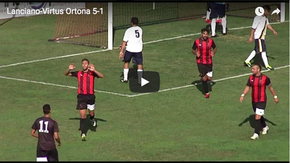 Le immagini di Lanciano-Virtus Ortona 5-1