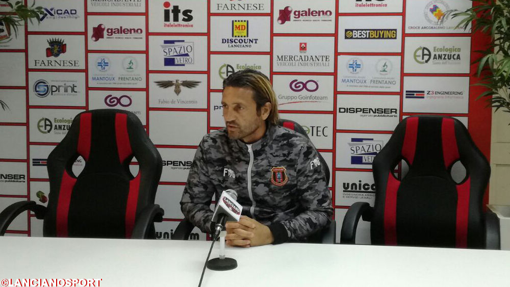 Le dichiarazioni dell'allenatore Del Grosso dopo la vittoria sullo Scerni