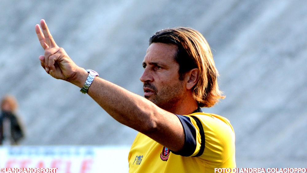 Le parole dell'allenatore del Lanciano Del Grosso dopo la gara col Fresa