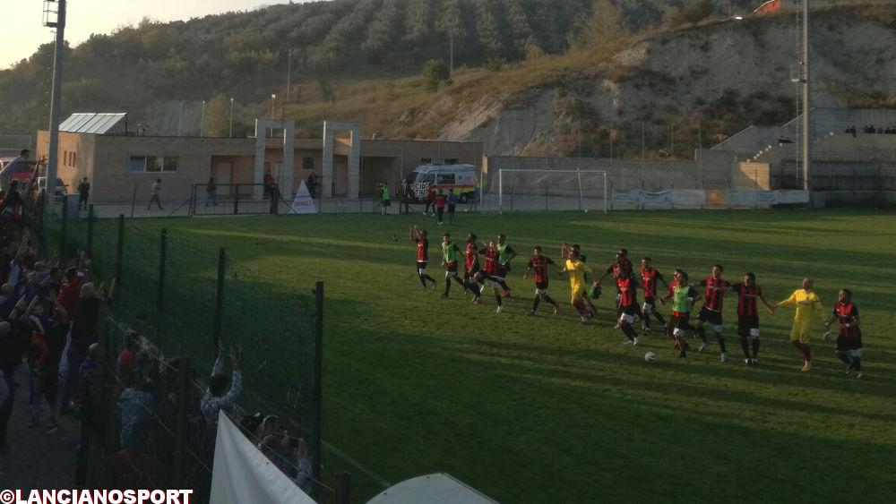 Lanciano corsaro a Montemarcone: 2-3 a un'indomita Atessa