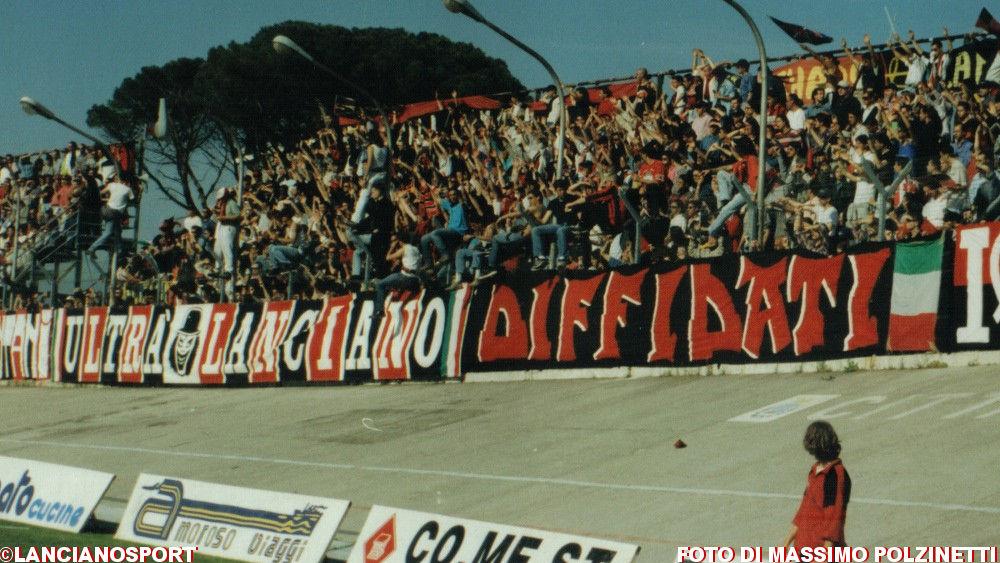 I precedenti tra Lanciano e Atessa: il 5-1 del '96 unico exploit rossoblù