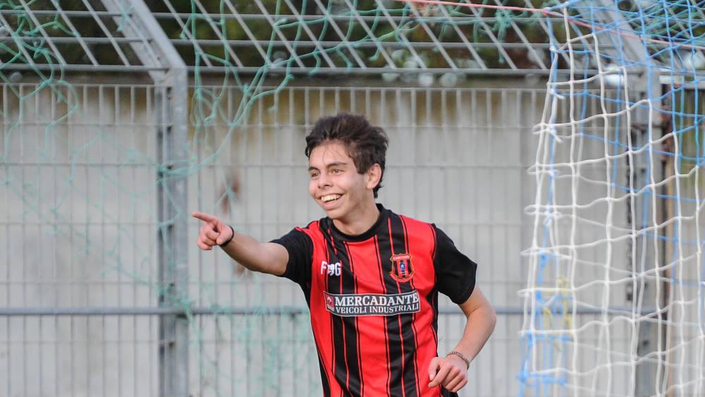 Vitali, il primo 2000 in gol con la maglia del Lanciano