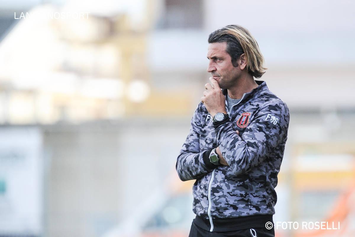 Le dichiarazioni nel dopo gara dell'allenatore Del Grosso e del presidente De Vincentiis