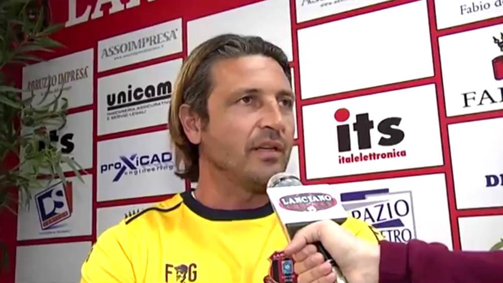 Le dichiarazioni dell'allenatore Del Grosso alla vigilia della partita a Paglieta