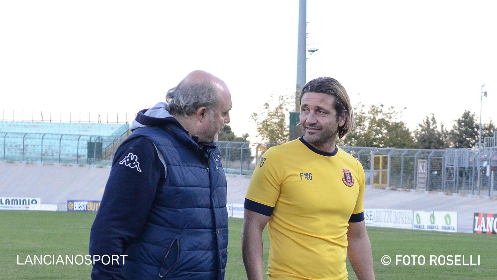L'allenatore Del Grosso dopo Lanciano-Tre Ville: «Insoddisfatto della prestazione complessiva»