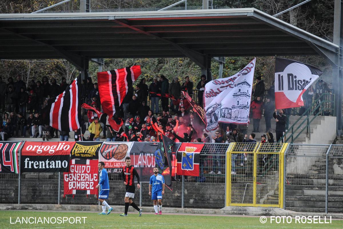 Le immagini dei gol di Orsogna-Lanciano 0-3