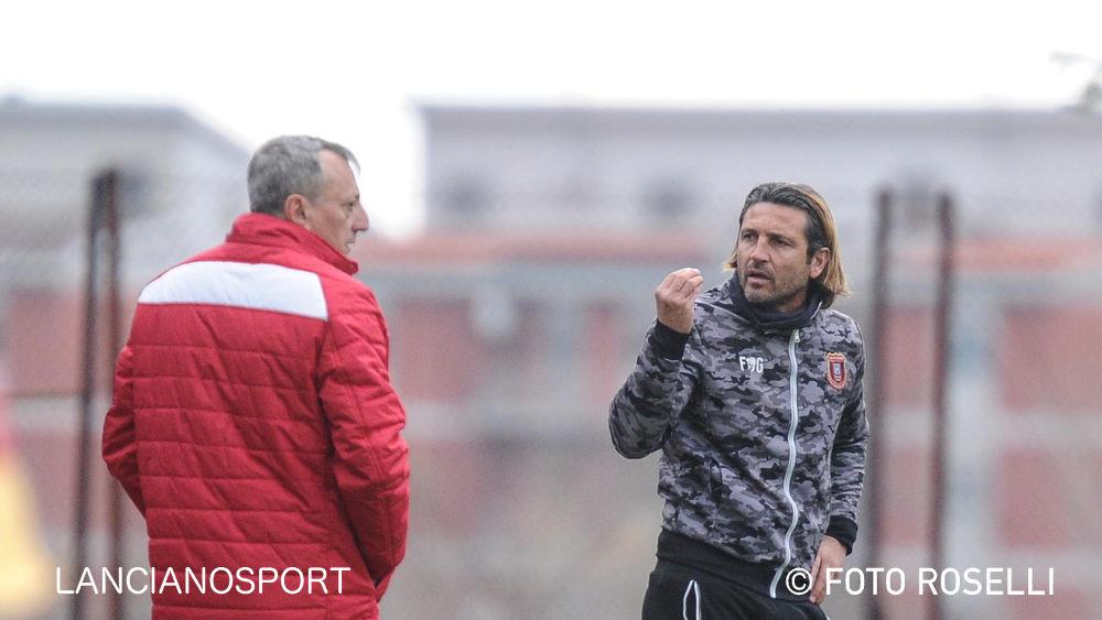 Le dichiarazioni degli allenatori Del Grosso e D'Orazio dopo Orsogna-Lanciano