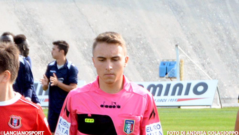 Speziale di Pescara arbitra Lanciano-Angizia Luco