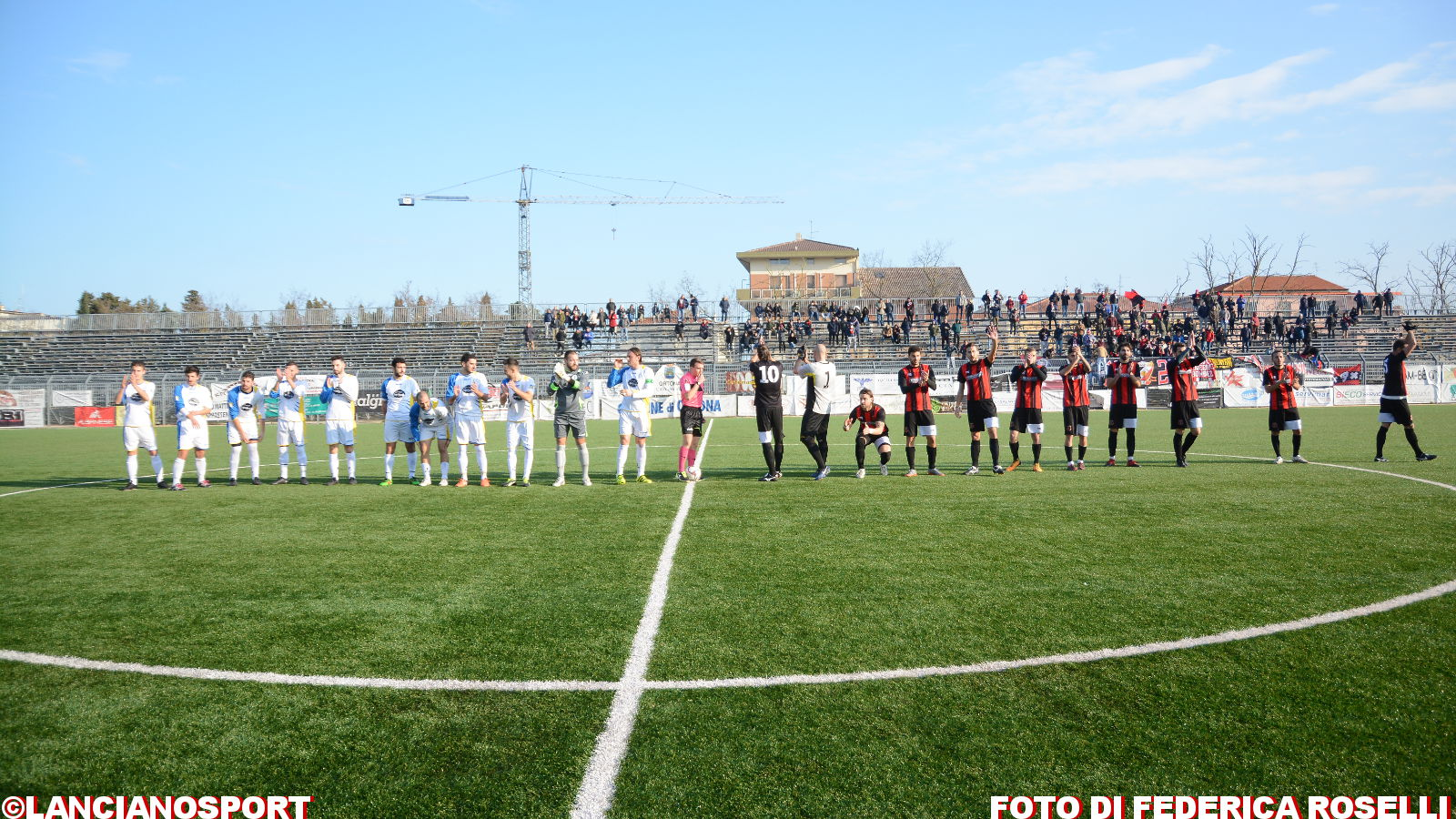 Le immagini di Virtus Ortona-Lanciano 1-0