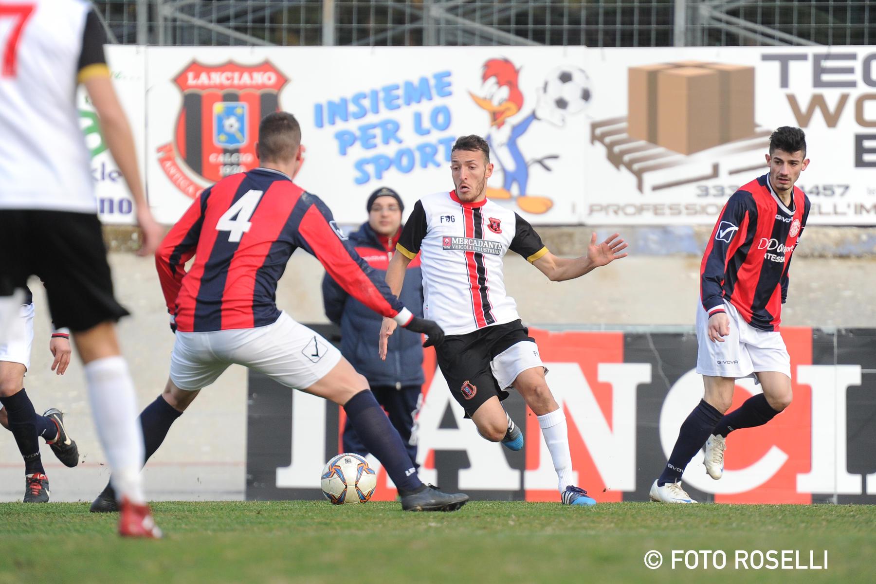 La Promozione in pugno: il Lanciano batte l'Atessa con un gol di Quintiliani e vola a +6