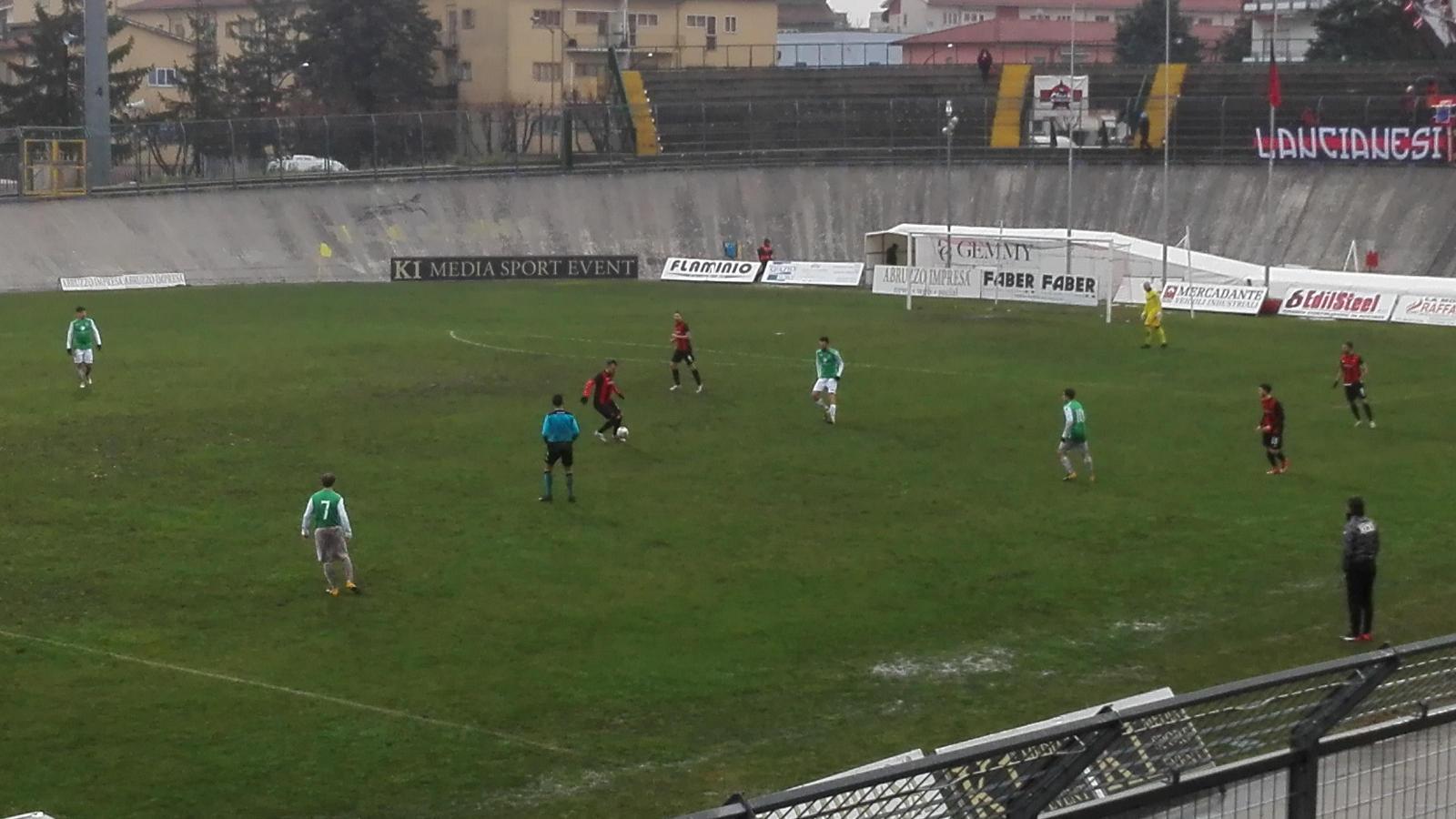 Lanciano-Roccaspinalveti 11-0 (risultato finale)
