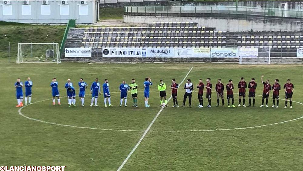 Athletic Lanciano senza Del Bello per due turni, stop all'allenatore dell'Orsogna D'Orazio fino al 28