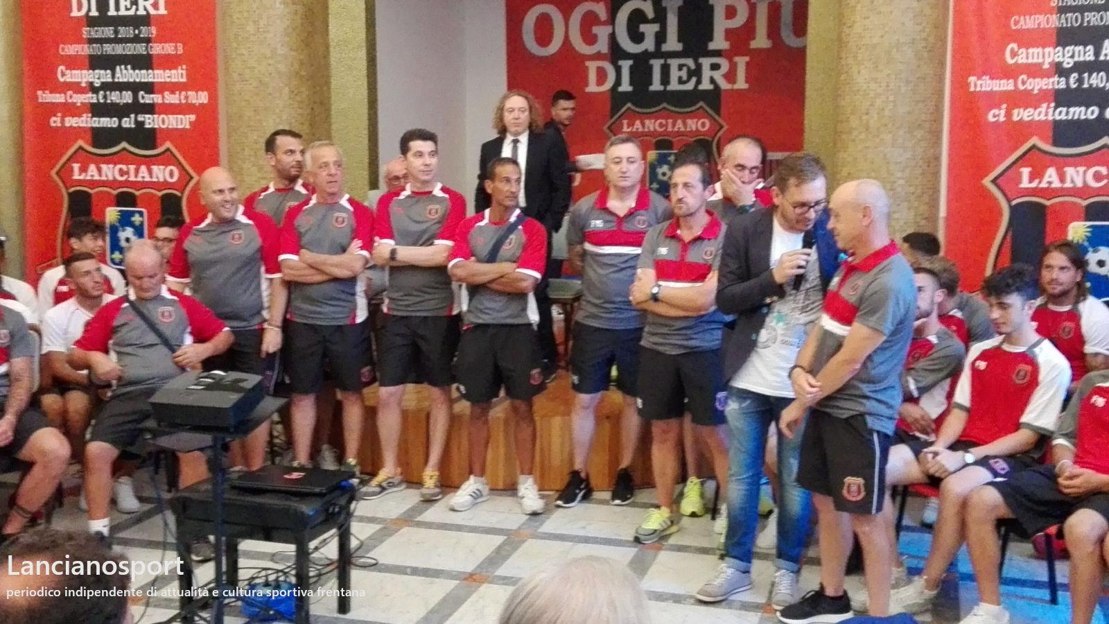 Settore giovanile Lanciano, presentato lo staff per la stagione 2018-2019