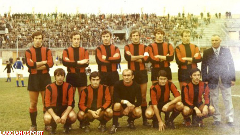 La maglia 2018-2019 del Lanciano ispirata alla Pro Lanciano di 50 anni fa