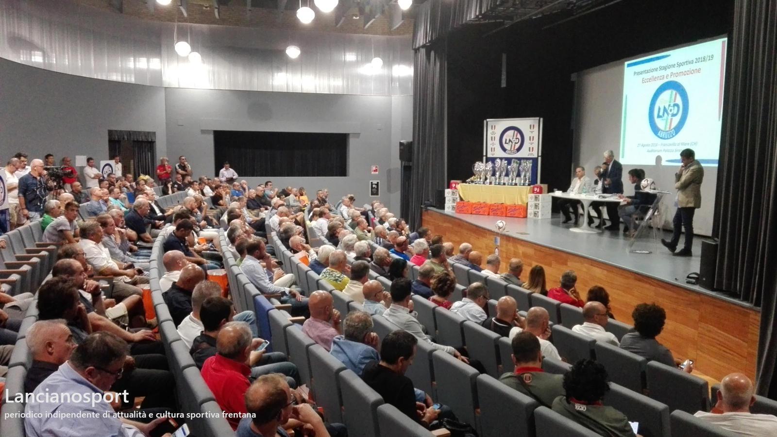 Promozione 2018-2019: Lanciano debutta a Raiano
