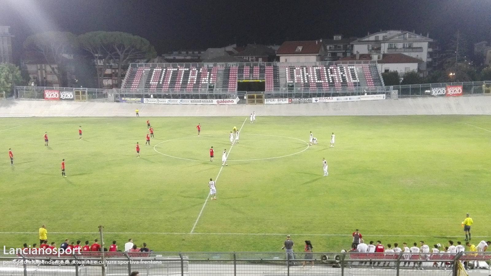 Lanciano chiude il precampionato superando 4-2 L'Atessa Mario Tano