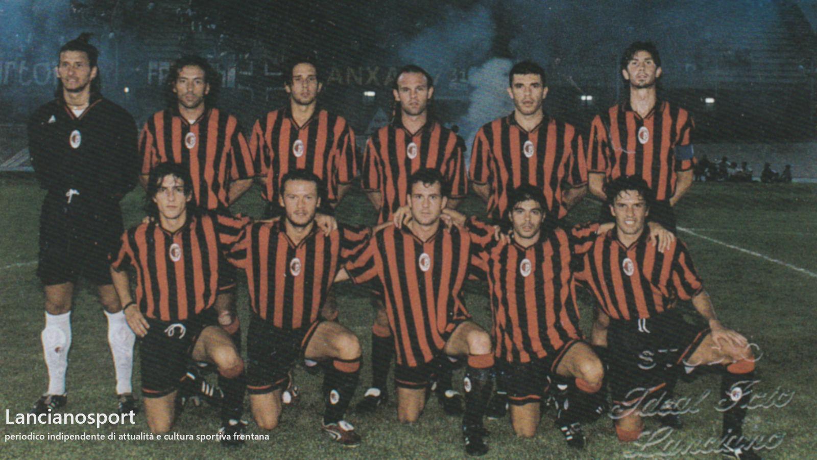 L'ultimo derby di Coppa tra Lanciano e Ortona deciso da Arancio e Di Gioia nel '98