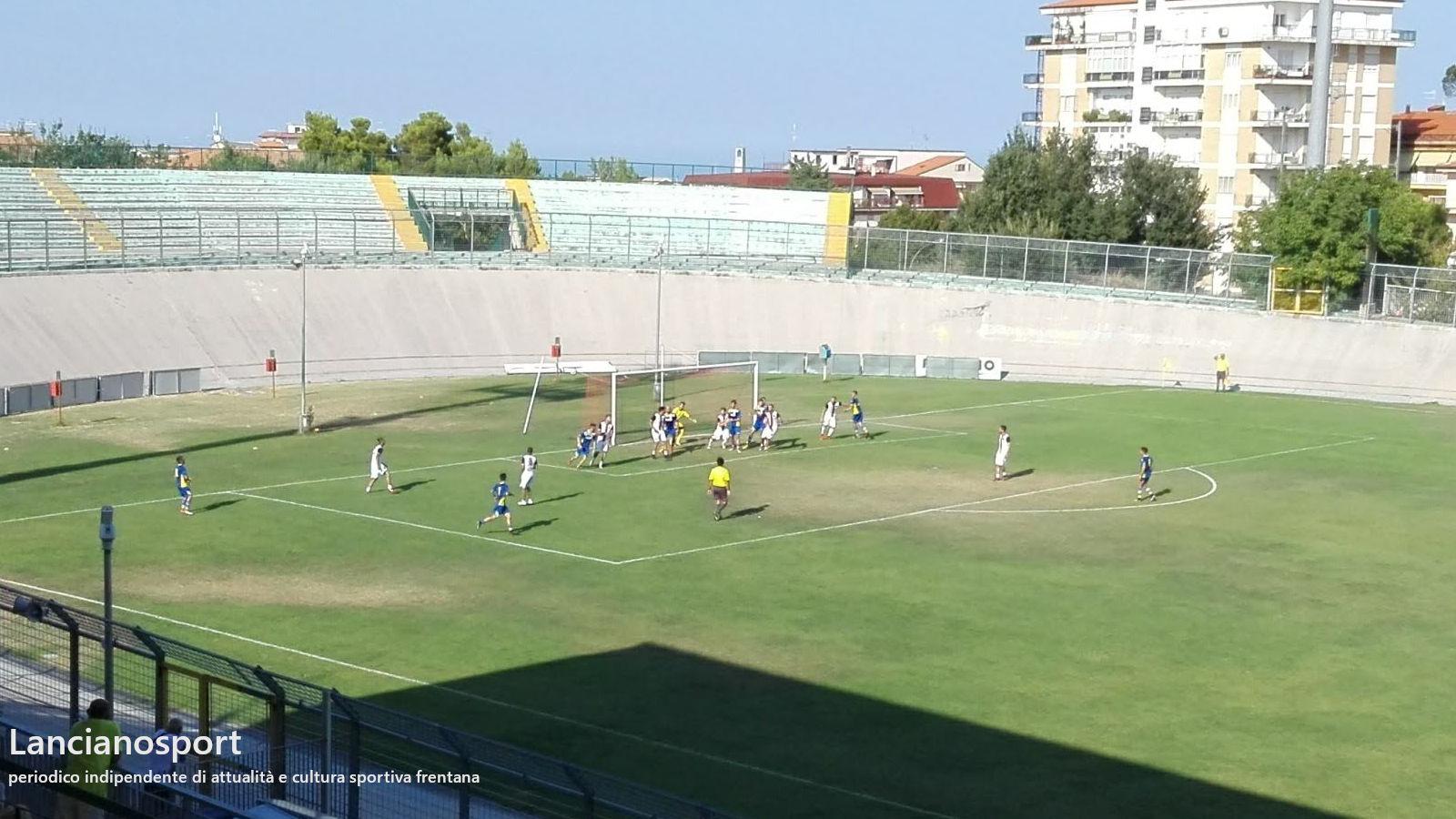 Tre gol del Lanciano alla Renato Curi Angolana