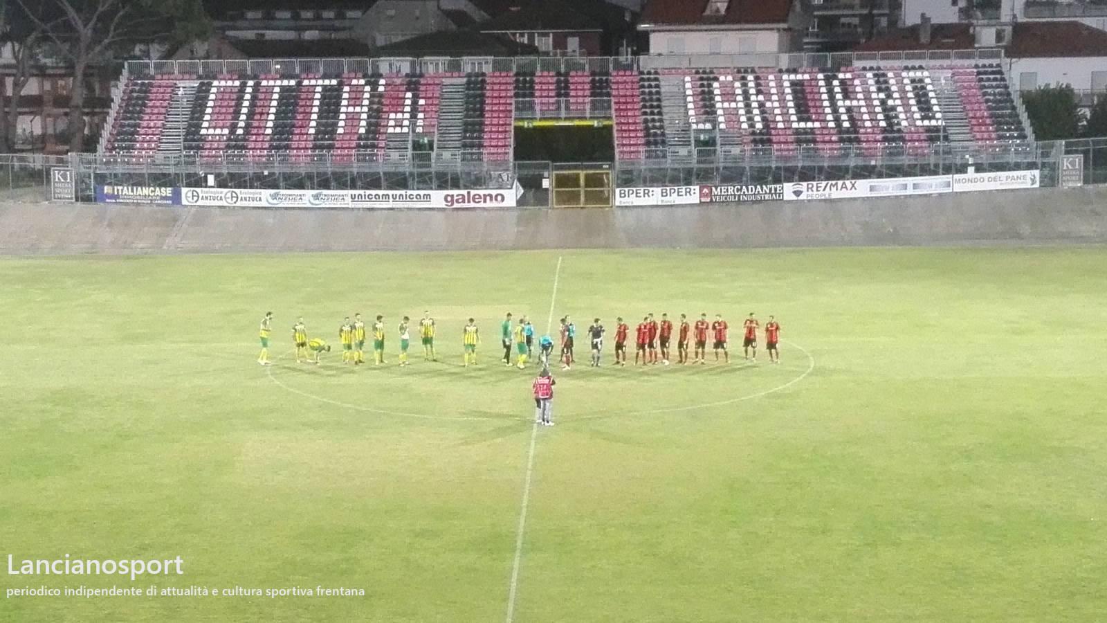 Coppa Italia: il Lanciano mette al sicuro il passaggio del turno con sei gol all'Ortona