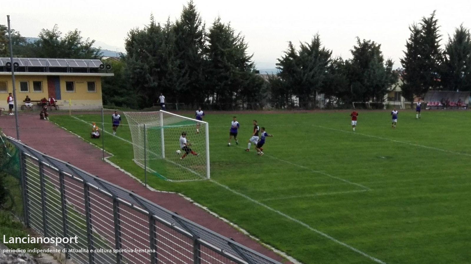 Lanciano-Tollese 6-0: i rossoneri dilagano nella ripresa