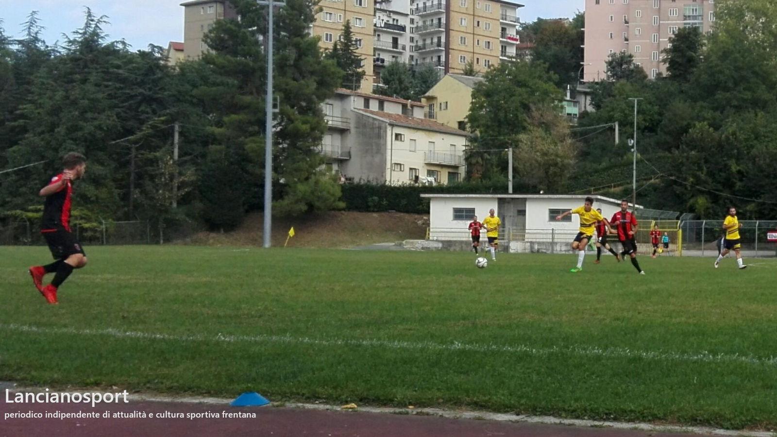 Tre gol al Bucchianico valgono la quinta vittoria del Lanciano e il +3 sulla seconda