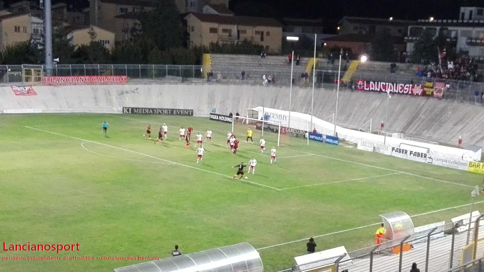 Le immagini di Lanciano-Sant'Anna 3-0
