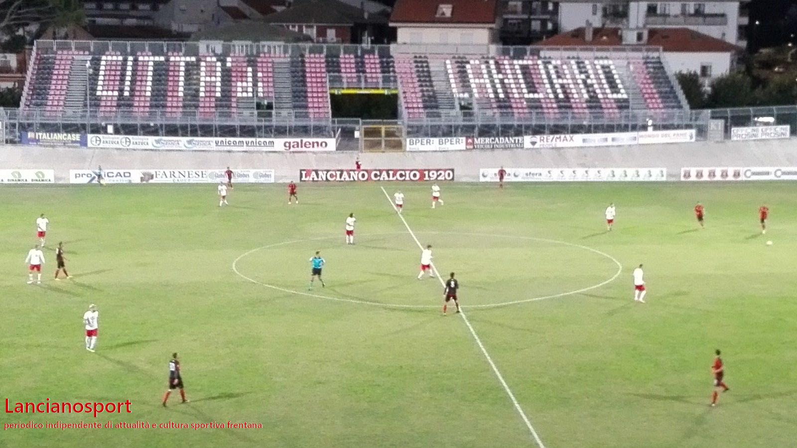 Luca di Monteodorisio arbitra Lanciano-Paterno