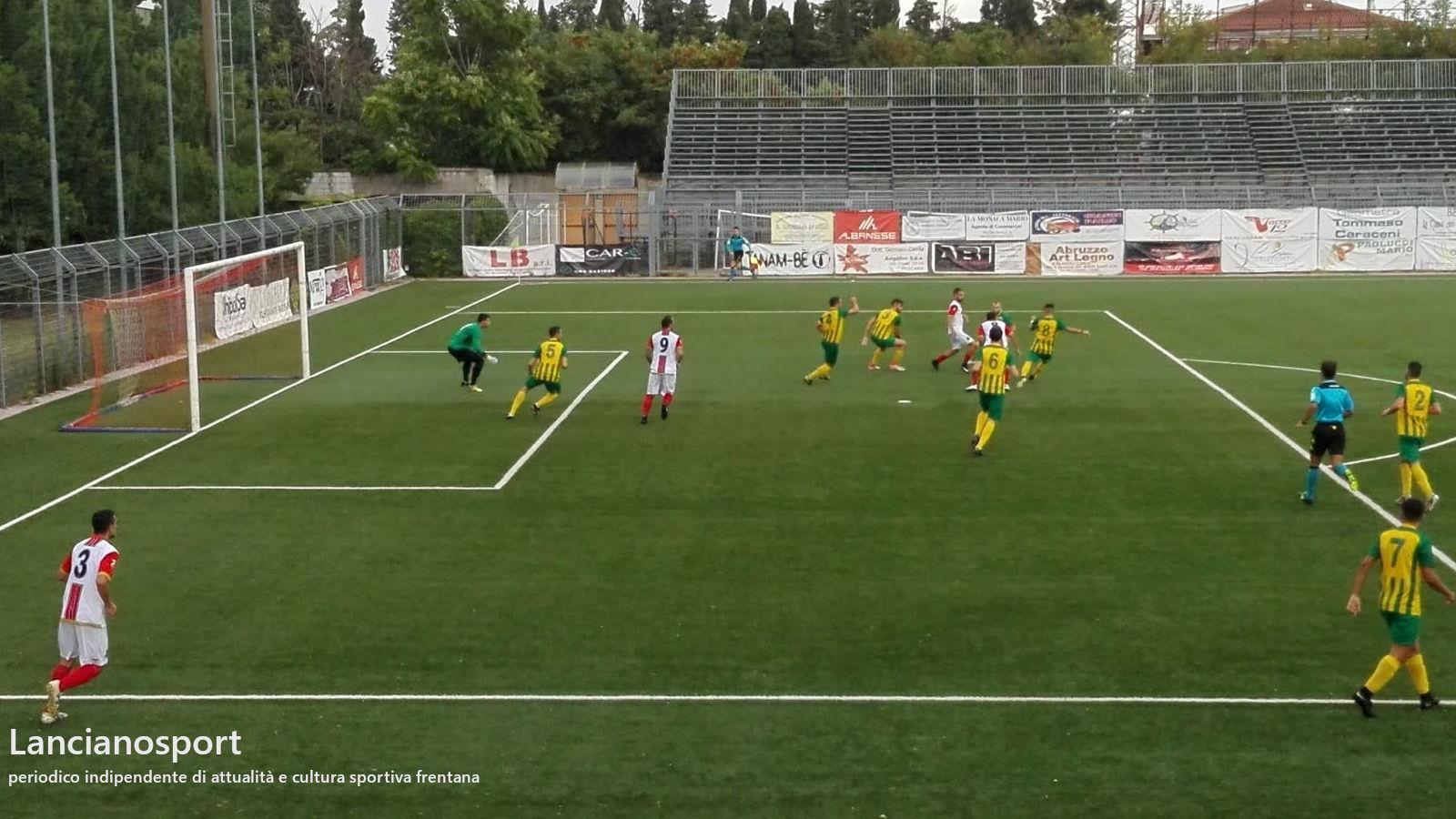 Lanciano avanti in Coppa: 2-2 a Ortona dopo il 6-2 dell'andata