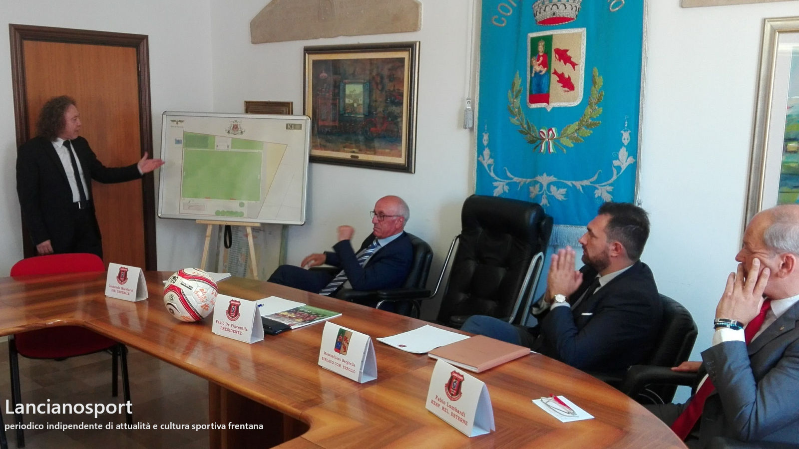 Centro Sportivo Frentano a Treglio per le giovanili del Lanciano: presentato il progetto