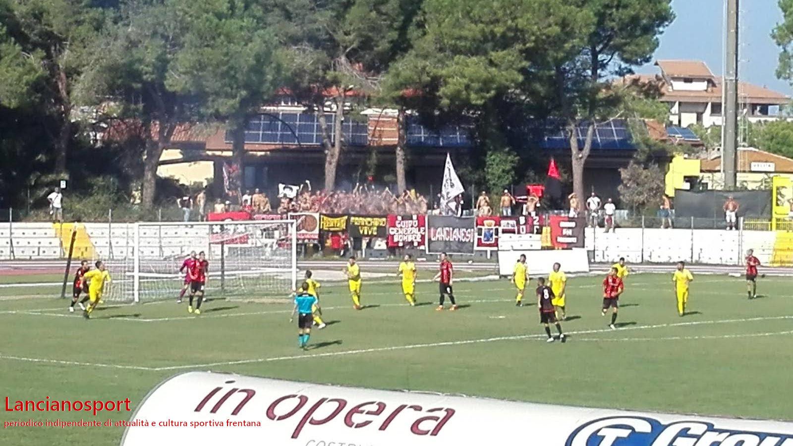Il Lanciano sbanca il Valle Anzuca: 1-4 al Villa 2015 per restare a punteggio pieno