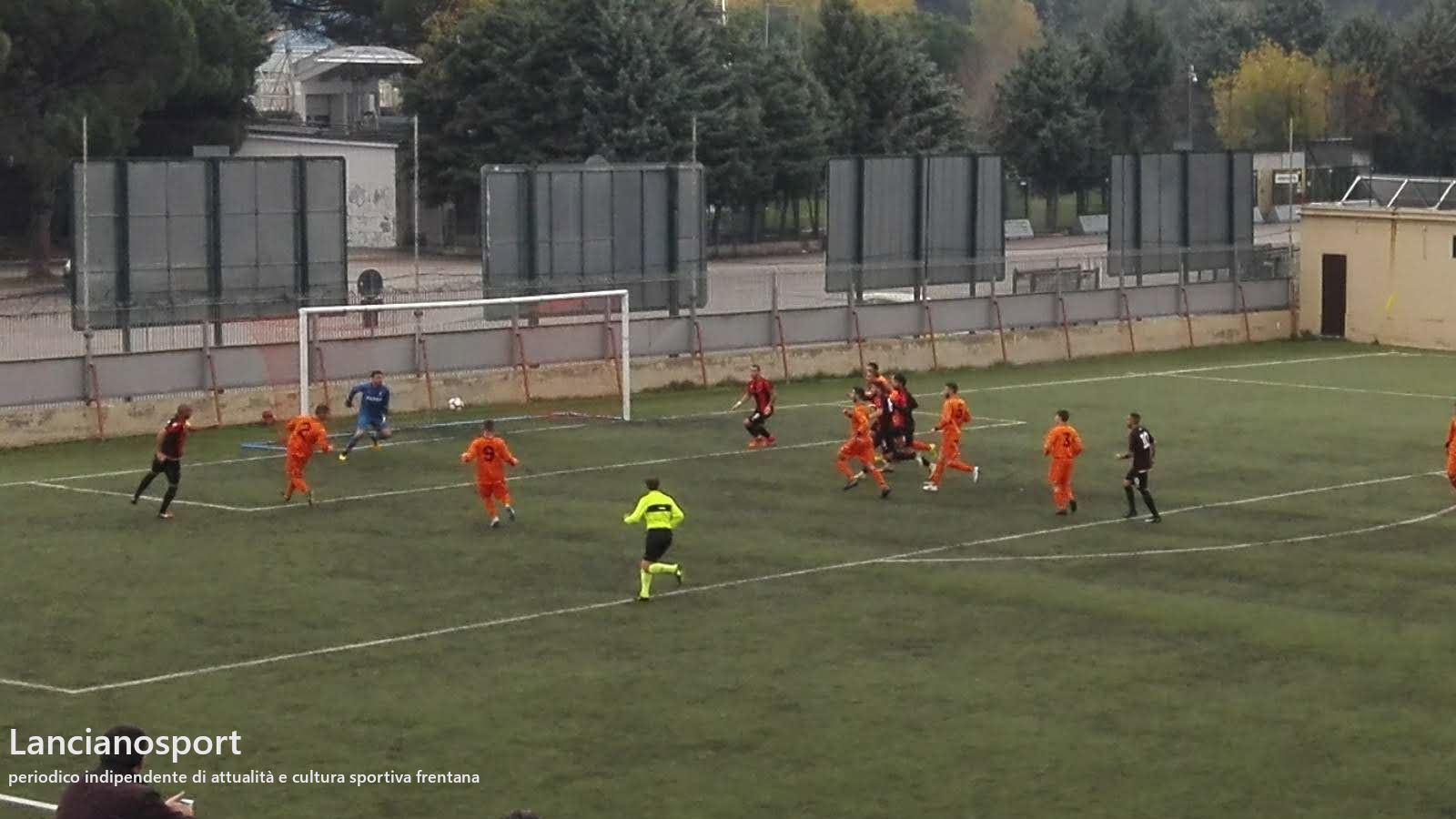 Tris del Lanciano alla Fater Angelini: i frentani espugnano 0-3 il Flacco di Pescara
