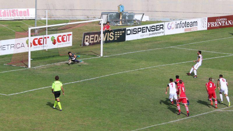 Lanciano si riscatta: 4-2 al Pontevomano e primo successo in campionato