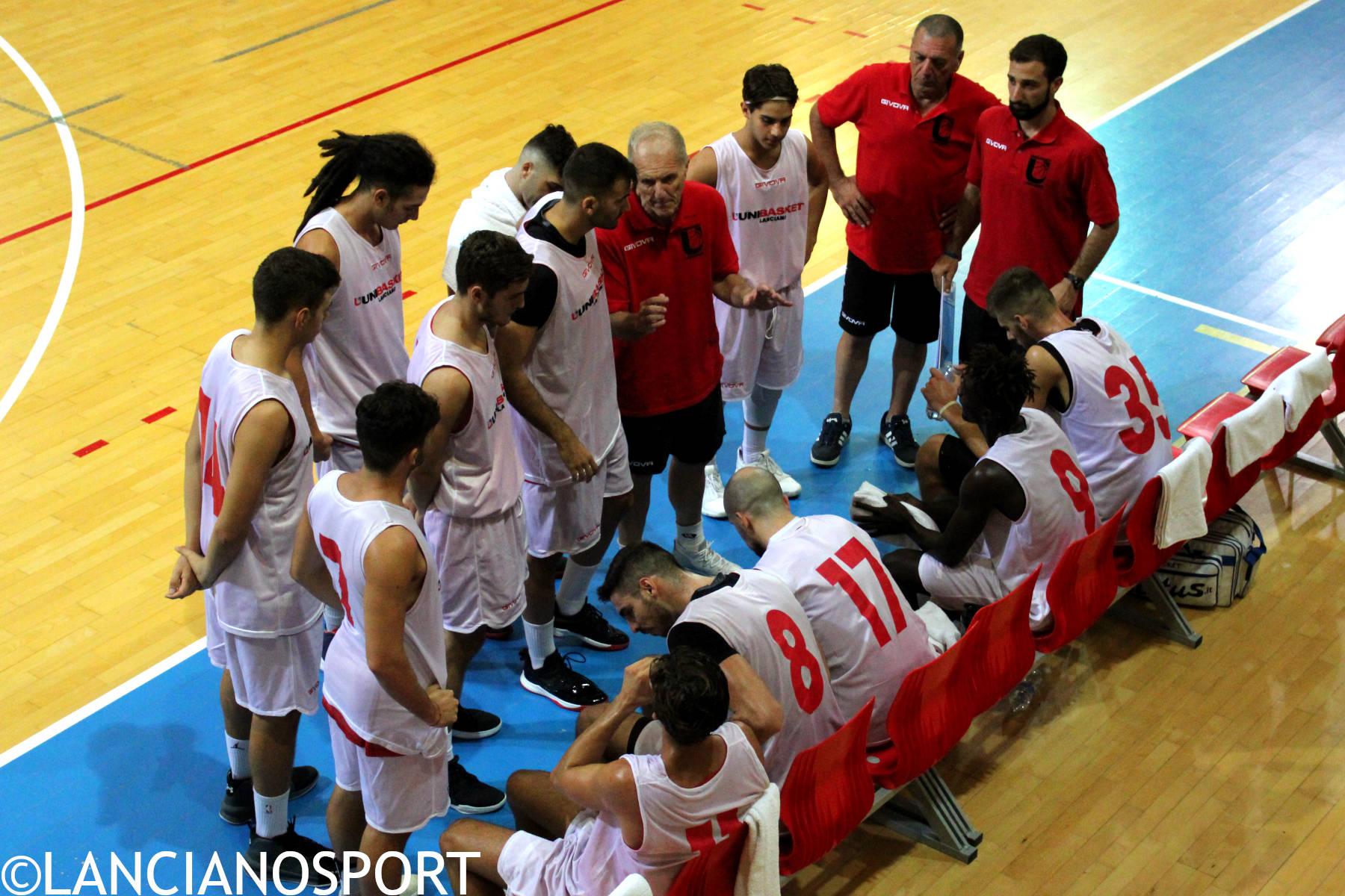 Sabato ultima amichevole precampionato dell'Unibasket