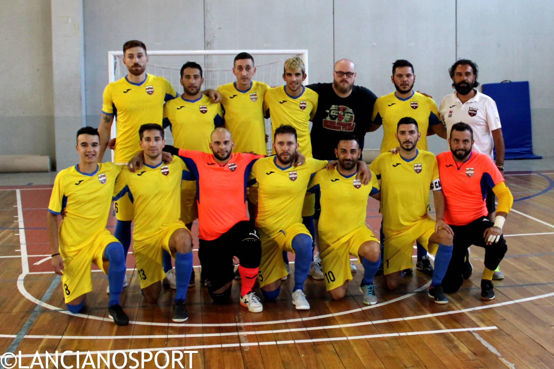 Nella terza giornata di C1 anticipo in diretta streaming per il Futsal Lanciano